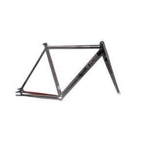 Cinelli Mash Parallax Aluminum Track Frame Set - Charcoal 50