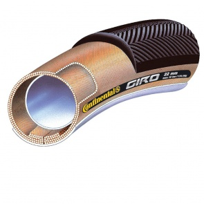 Continental Giro Tubular Road Bike Tyre Black 28x22 mm