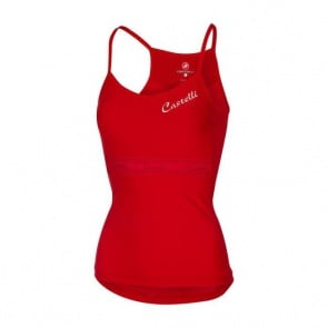 Castelli Spaghettino Women's Top Red