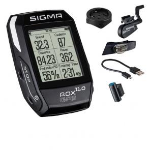 Sigma speedometer ROX 11.0 GPS black SET