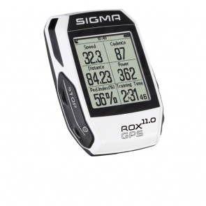 Sigma speedometer ROX 11.0 GPS white SET