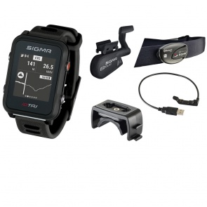 Sigma ID.TRI GPS Triathlon Watch Set