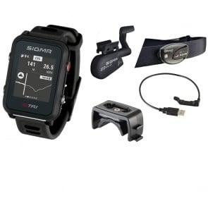 Sigma ID.TRI GPS Triathlon Watch Set