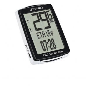 Sigma speedometer BC 16.16 STS+CAD