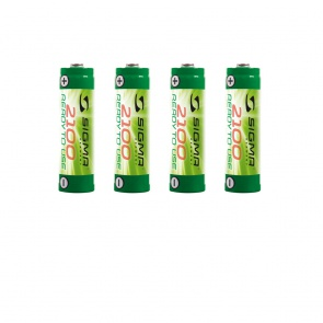 Sigma 4 x AA battery, NiMH 2,100 mAh