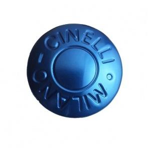 Cinelli Milano Anodized Handlebar Plugs - Blue