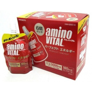 Ajinomoto Amino Vital Pefect Energy Gel 1Box with 6 Packs