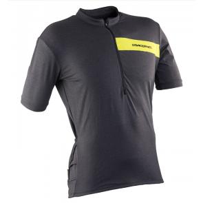 Race Face Podium Jersey Short Sleeve Charc-Sulphur