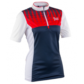 Race Face Diy Womens Jersey Short Sleeve Navy-Flame