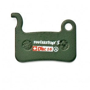 SwissStop Shim. M975, M775 Sintered Disc 16S Brake Pads 2pcs