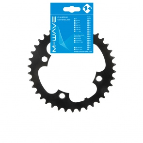 """M-Wave E-Bike Chainring 1 / 2x3 / 32 """"38T Black for Bosch engines"""