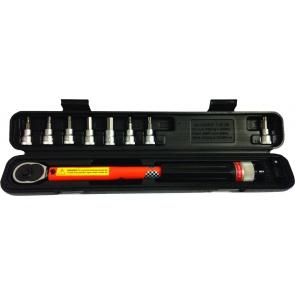 """Super B 3/8"""" 12-60mm W/case/bits Tw-30 Torque Tool"""