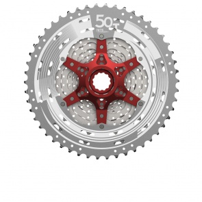 Sunrace MTB Sprocket CSMX80 11s 11-50 metallic