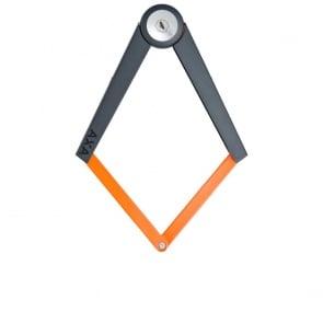 AXA Toucan Folding Lock 120cm - Black