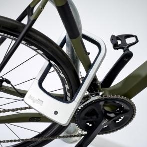 Squire Inigma BL1 D Smart Lock Silver E-Bike