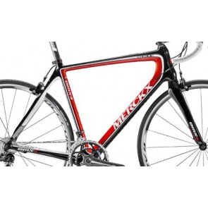 Eddy Merckx Frame Set EMX-3 VK 1695 Red Black (BKR)