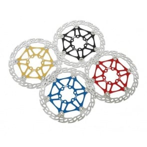 Hope Bicycle Disc Brakes Mini-M4 Floating Rotor Blue