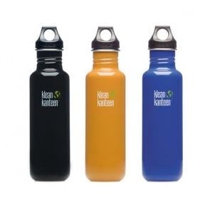 Klean Kanteen Classic Water Bottle 800ml Black