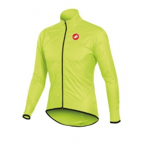 Castelli Squadra Long Jacket Bicycle Cycling Yellow