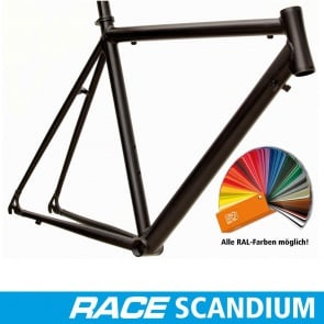 Quantec Frame Race Scandium Single-Colored Powdered