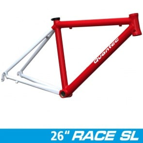 Quantec Frame Race SL 26 inch / 571 RH: 43 red-white