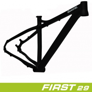 "Quantec Frame 29 ""FIRST RH: 19"" Black Anodised"