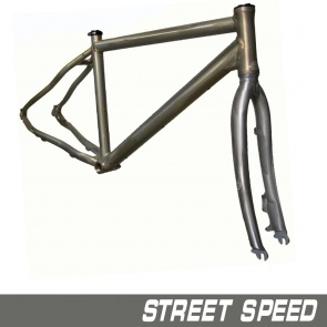 Quantec Frame Street Speed Incl.Fork Raw