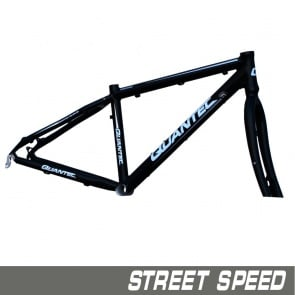 Quantec Frame Street Speed Incl.Fork Black Matt