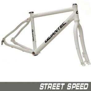 Quantec Frame Street Speed Incl.Fork White