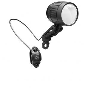 Busch and Mullter Lumotec IQ-SM Black E-Bike Front Light 8-48V