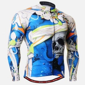Fixgear Mens Bicycle Jersey Cycling Long Sleeves CS19B1