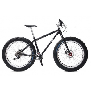 Anvil FatGear Alpha SLX 2x11sp Fatbike Custom Full kit Black