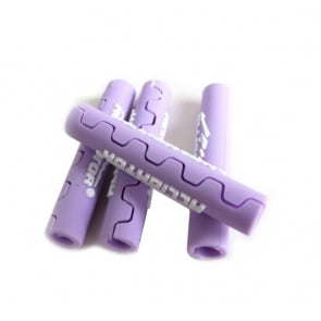 Alligator frame protect cable tube Purple shifter brake