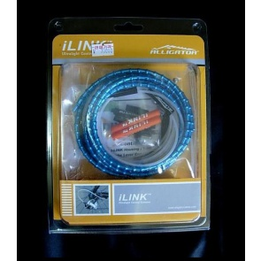Alligator Ilink bicycle V brake cable 150cm blue