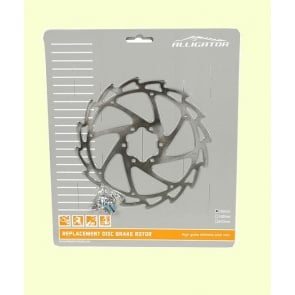 Alligator Wind Cutter Disc Brake Rotor 160mm 6bolts