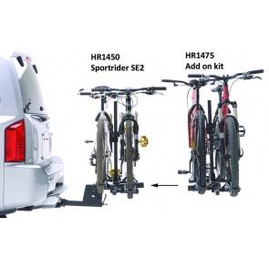 HOLLYWOOD SPORTRIDER-SE2 HR1475 2 BIKE ADD-ON RACK