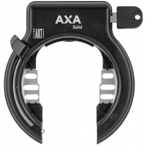 Axa Solid Frame Lock Black
