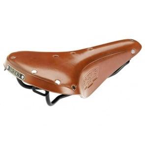 BROOKS B17 S standard bicycle cycling saddle seat honey leather