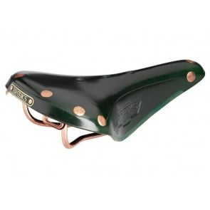 BROOKS ENGLAND B17 SPECIAL COPPER BICYCLE SADDLE GREEN
