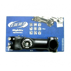 BBB Bike Stem BHS-22 Highsix Adjustable 25.4
