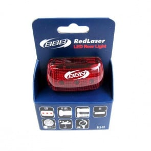 BBB BLS-52 Redlaser bicycle rear safety lamp led light