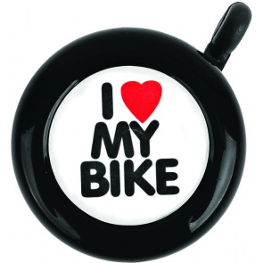 ACTION I LOVE MY BIKE STEEL BLACK EACH BELL