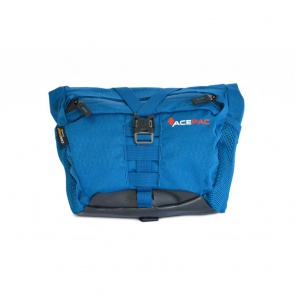 AcePac Bar Bag Add-On for Bar Roll Handlebar Bag - Blue