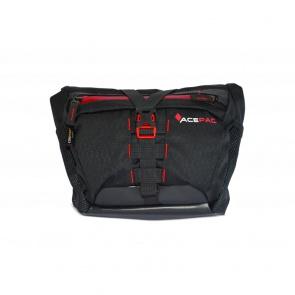 AcePac Bar Bag Add-On for Bar Roll Handlebar Bag - Grey