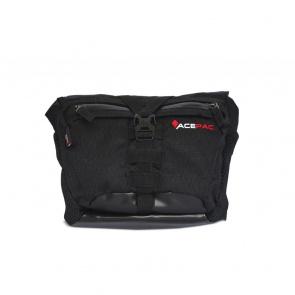 AcePac Bar Bag Add-On for Bar Roll Handlebar Bag - Black