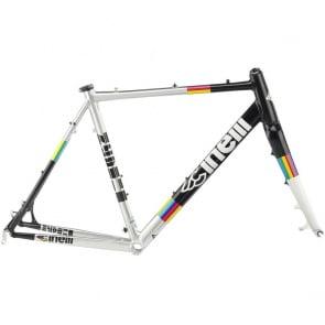 Cinelli Zydeco Cyclocross Frame Rainbow