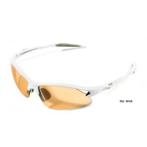 Bianchi cycling aquila optics sunglass goggles white