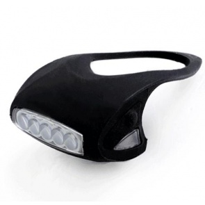 BicycleHero 7LED Front Light Torch LC-6005 Silicon Black