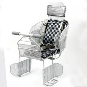BicycleHero Rear Rack Baby Carrier Headrest