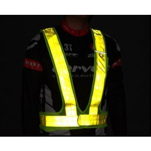 BicycleHero Safety Reflector Vest Night Riding Cycling